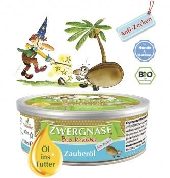 Zwergnase Bio Zauberöl Anti-Zecken, 280g - MHD 02.07.2021