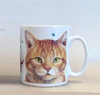 Becher Ginger Cat