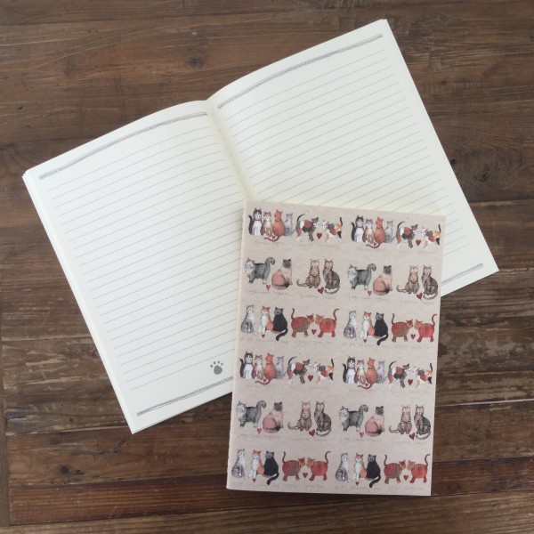 Large Soft Notebook Charismatic Cats