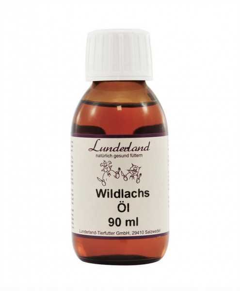 Lunderland Wild Salmon Oil cold-pressed, 90 ml