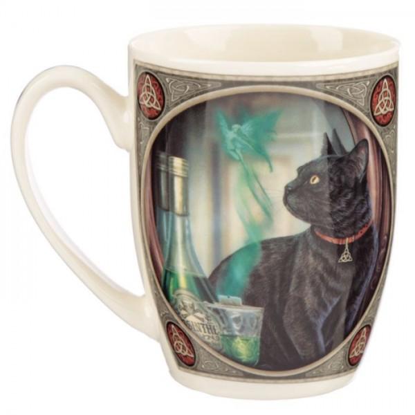 Kaffee-/Teebecher Absinth