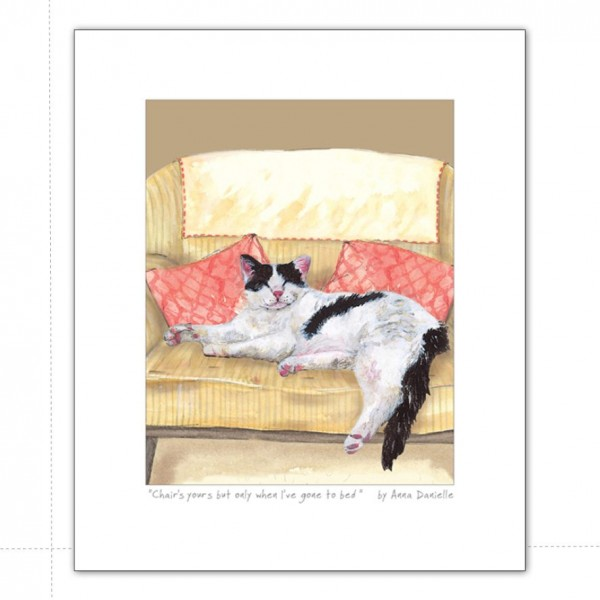 TLDL Art Print Chairbed