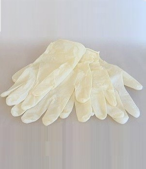 Latex Einmalhandschuhe Gr. M, 100 Stck.