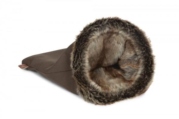 DBL Schlafsack Faisca braun
