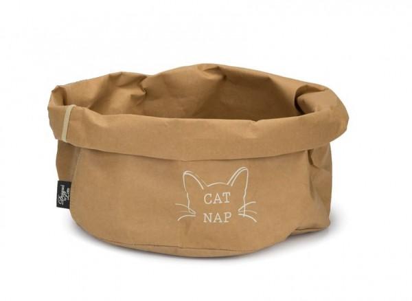 DBL Papier Katzenkorb beige Cat Nap