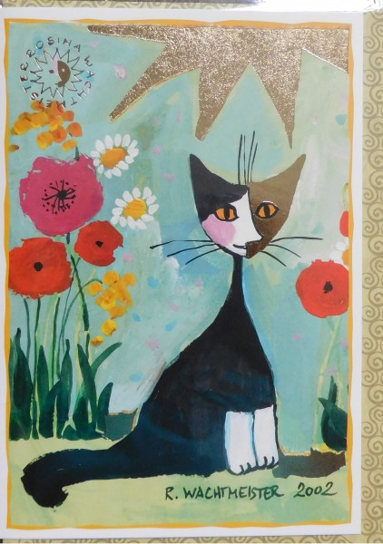 osina Wachtmeister Card plus Envelope My Garden