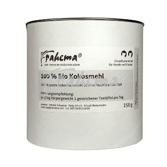 Pahema Bio-Kokosmehl, 250 g - MHD 12/2021