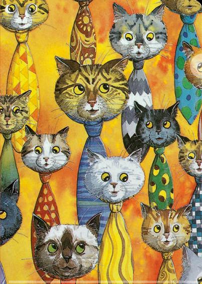 Sichthülle Katzen