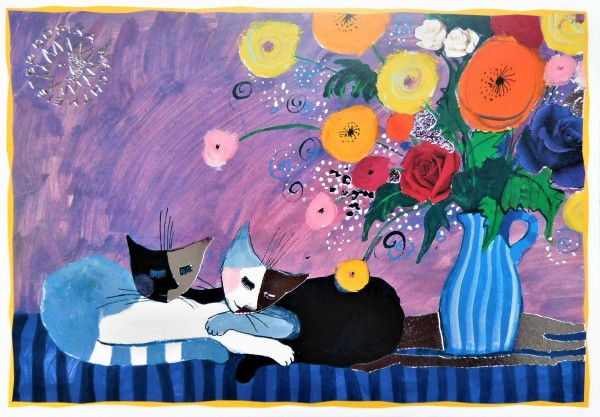 Rosina Wachtmeister Post Card Chill Out