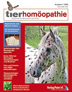 Tierhomöopathie Ausgabe I /2009
