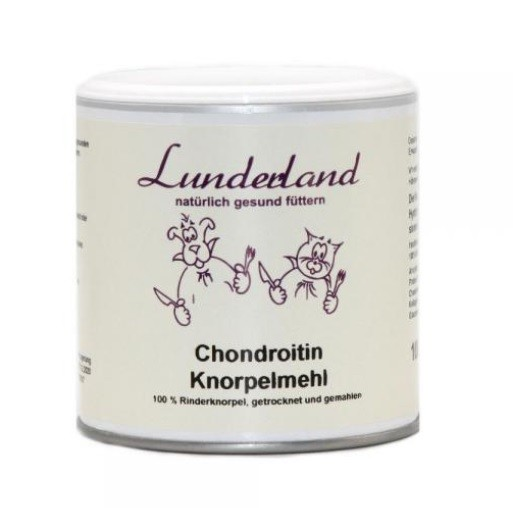 Lunderland Chondroitin Knorpelmehl, 100 g