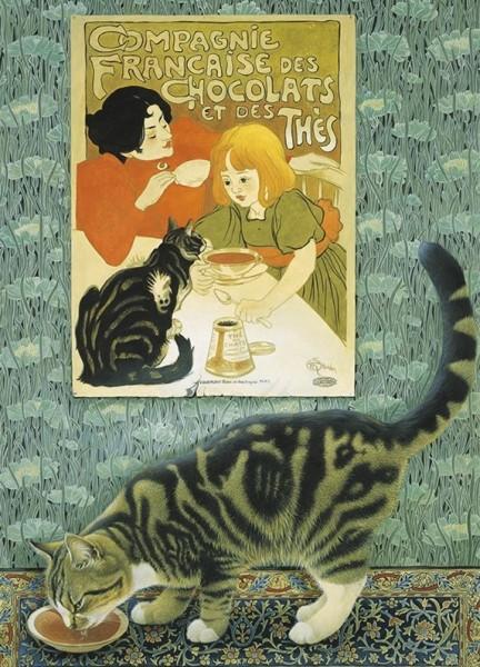 Blank Card Twiglet and Art Nouveau