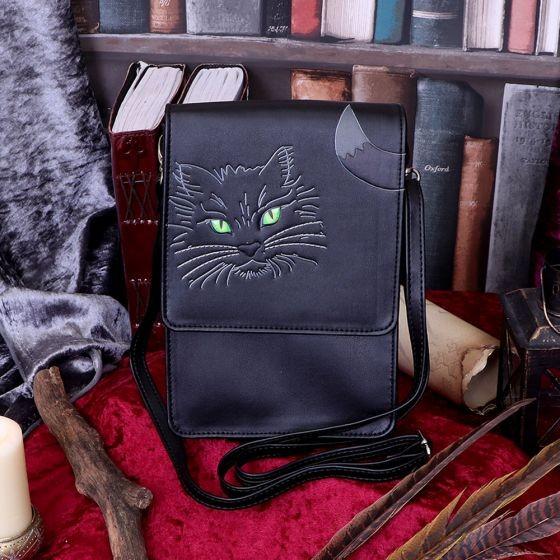 Lucky Cat Tasche mit Handyhalterung
