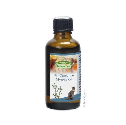 PerNaturam Bio-Curcuma-Myrrhe-Öl, 50 ml