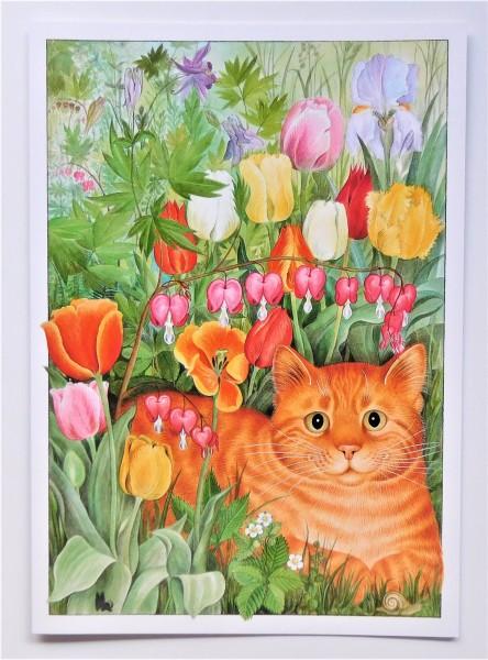 GB Blank Card Tulpen