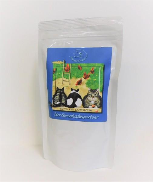 Tatzenladen Bio-Eierschalenpulver, 400 g Tüte DE-ÖKO-003