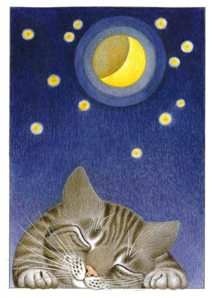GB Blank Card Tag & Nacht