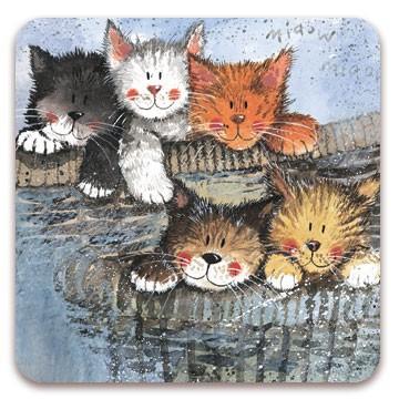 Fridge Magnet Kittens