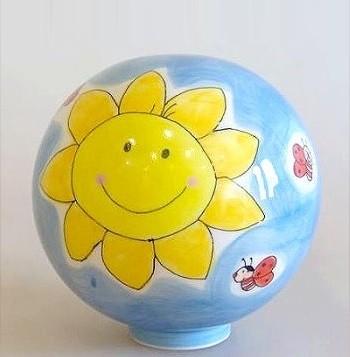 Gartenkugel Sonne