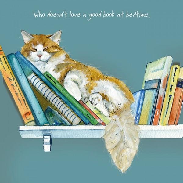 TLDL Book at Bedtime Blank Card