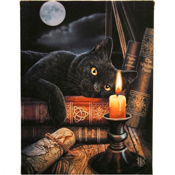 Canvas Art 19 x 25 cm Witching Hour