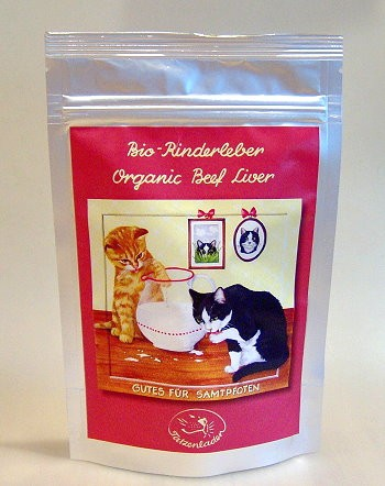 Tatzenladen Organic beef liver powder, 125 g DE-ÖKO-003