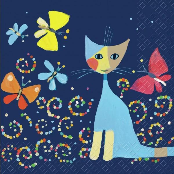 Rosina Wachtmeister Napkins Tanz der Schmetterlinge