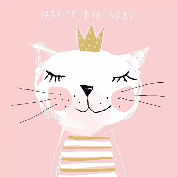 Napkins Happy Birthday Princess