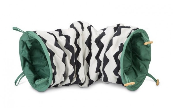 BZ Play Tunnel zebra and green