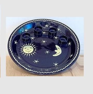 Schnurre Adventsteller Sonne, Mond und Sterne
