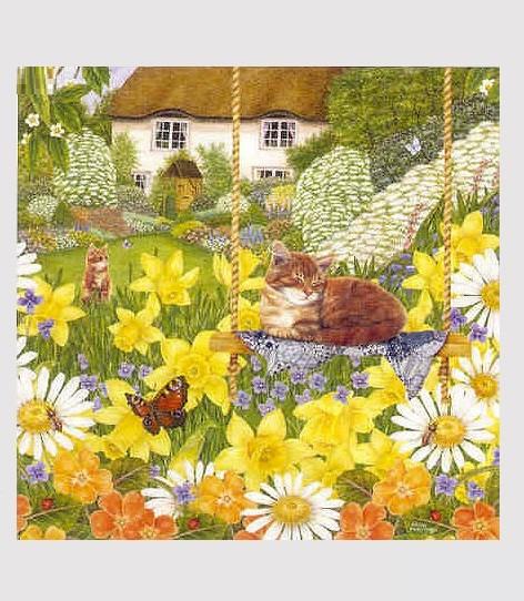 Puzzle Flower Garden