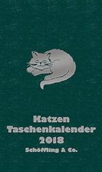 Katzen Taschenkalender für das Jahr 2018