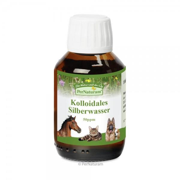 PerNaturam Kolloidales Silberwasser 50ppm, 100 ml