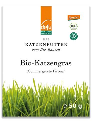 Defu Bio Katzengras-Samen, 50g