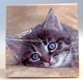 Servietten Kätzchen