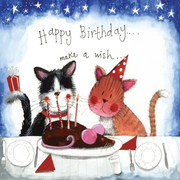 Geburtstagskarte Starlight
