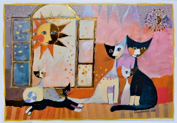 Rosina Wachtmeister Post Card Sonnentag