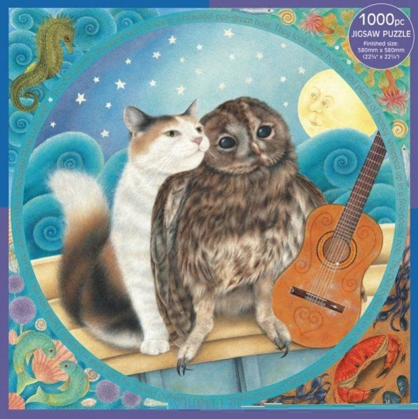 Puzzle The Owl an the Pussycat