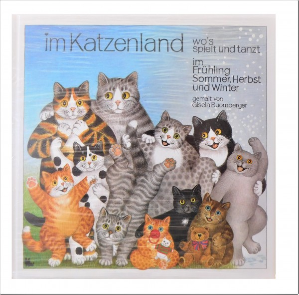 Buch: Gisela Buomberger Im Katzenland, Band 2
