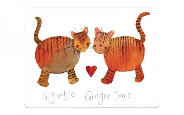 Gigantic Ginger Toms Placemat