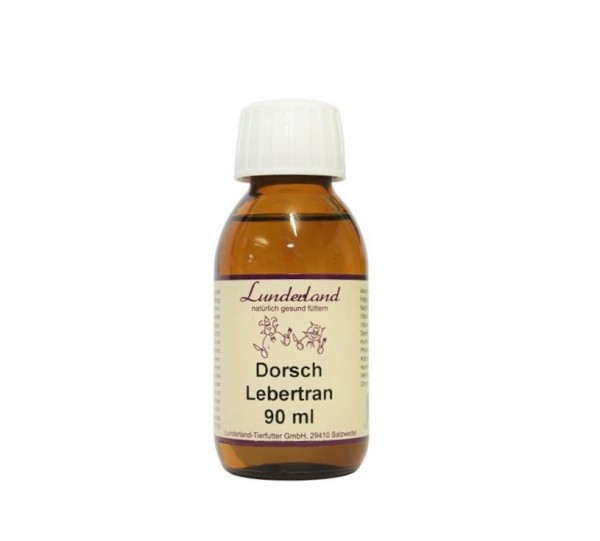 Lunderland Dorschlebertran, 90 ml