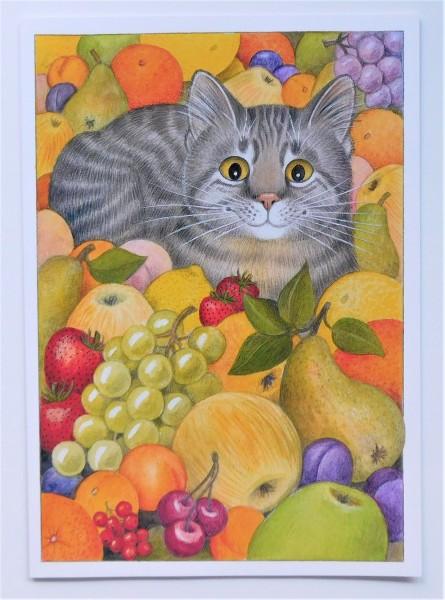 GB Blank Card Früchte