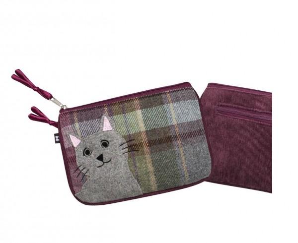 Tweed Cat Juliet Purse