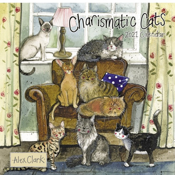 Kalender 2021 Charismatic Cats