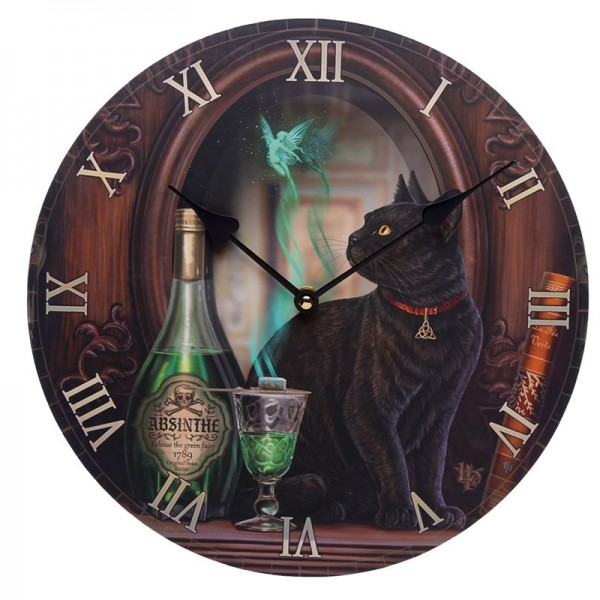 Picture Clock Absinth