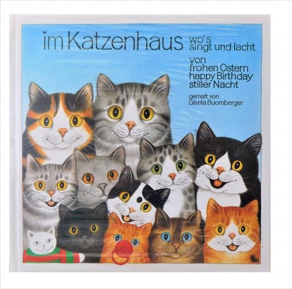 Buch: Gisela Buomberger Im Katzenhaus, Band 1