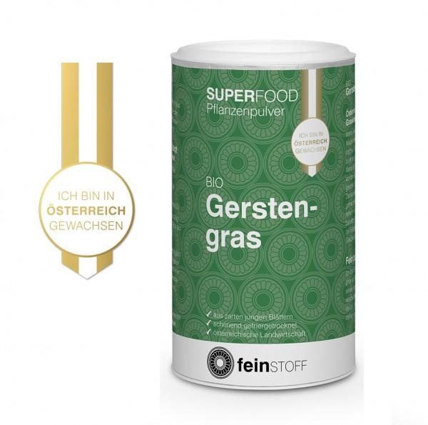 Bio-Gerstengras aus Österreich gefriergetrocknet, 70 g - MHD 30.05.2019
